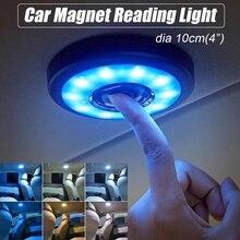 Светодиодный светильник для чтения в салоне автомобиля с usb зарядкой на крышу, магнит, автоматический Дневной светильник для багажника, Drl, квадратный купол, потолочный светильник для помещений