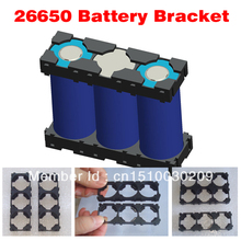 Free Shipping! 26650 battery holder lithium ion battery box 3P 26650 cell holder 26650 li ion battery plastic case