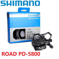 Shimano 105 PD 5800 Road Bicycle Pedal Carbon Fiber Composite Material Ultralight Pedal PD 5800 Road Pedal With SH11 Cleat Set