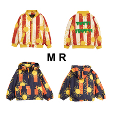 Presale MR 2019 Autumn Baby Jackets Modis Stripe Print Toddl