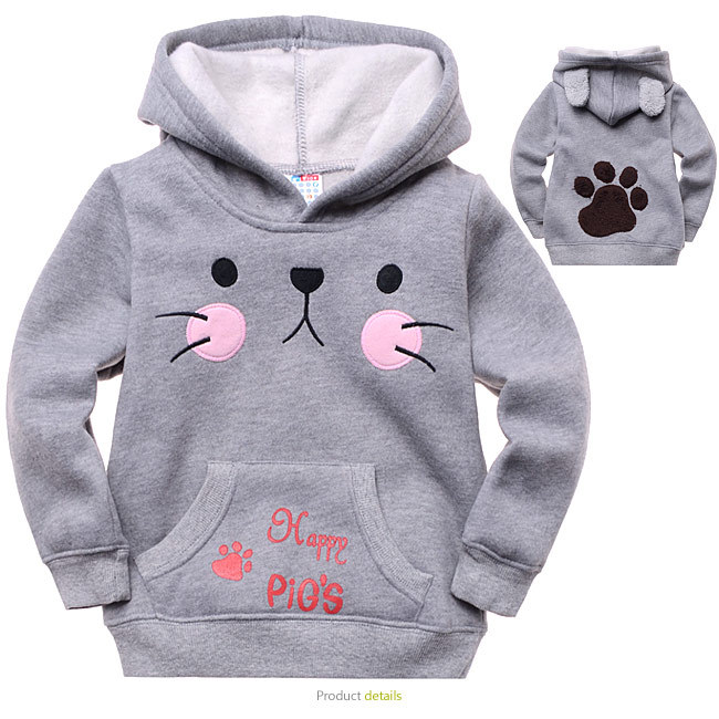 Children 39 s cartoon clothing new cotton pullover hoodie boy for How to not sweat through dress shirts