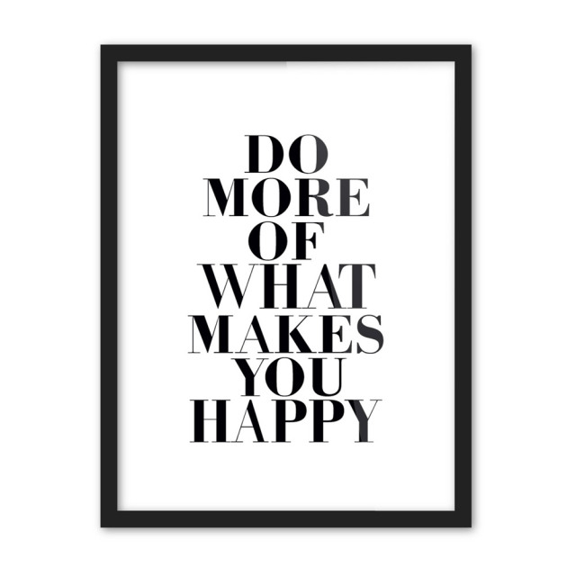 Black white motivational typography life quotes a4 poster print minimalist picture canvas painting no frame nordic