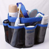 Multifunction Storage Bags Shower Bath Caddy Cosmetics Organizer Portable Tote Carry Hanging Bag Bathroom Products