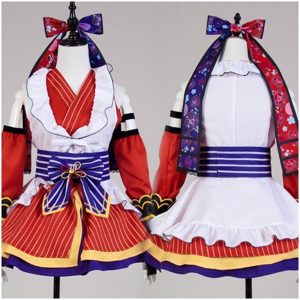 LoveLive! Umi Sonoda Ninja Cosplay Costume Full Sets