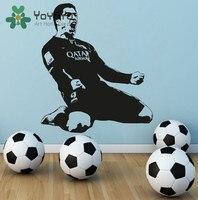 Luis Suarez FC Barcelona Vinyl Wall Decal Art Home Decor Sticker Barcelona Soccer Football Decal Sports