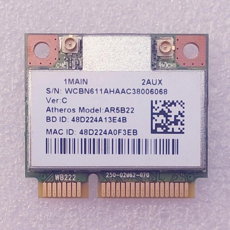 Оригинальный AR5B22 802.11a/B/G/N Wi-Fi и Bluetooth 4.0 карты