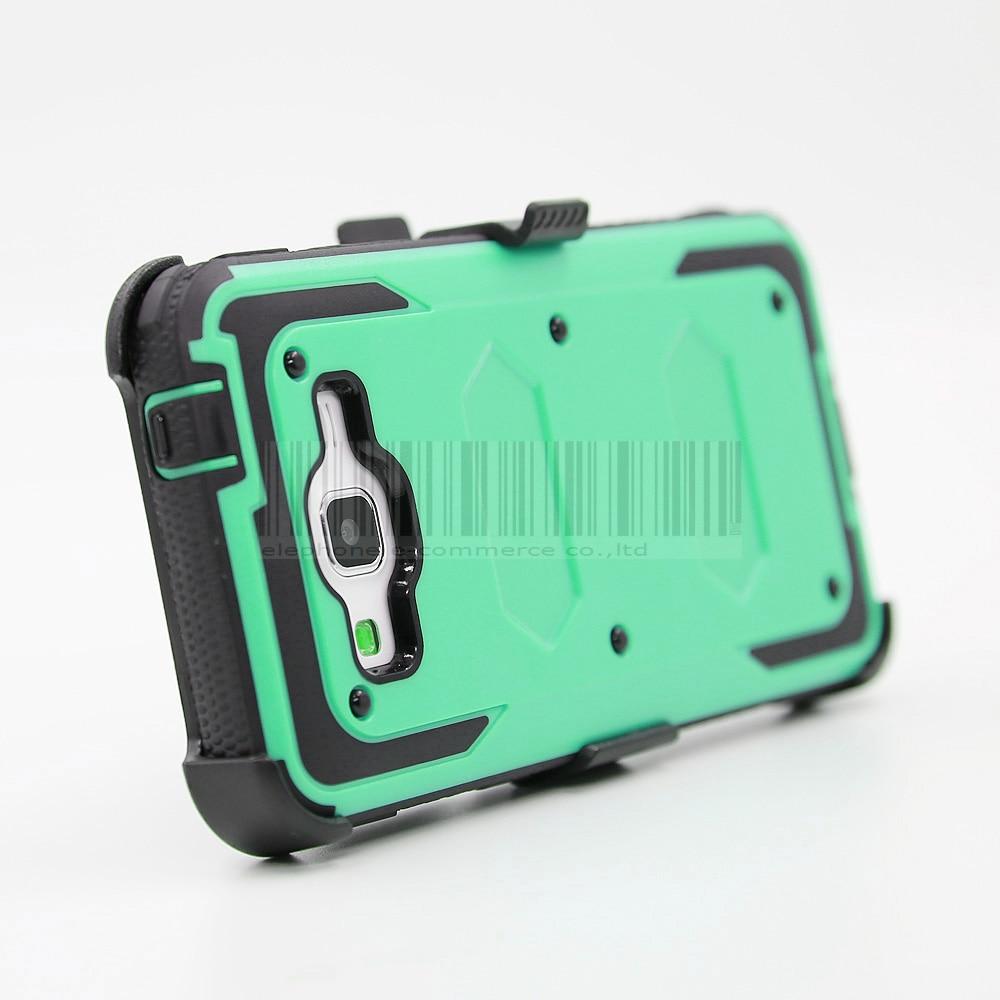 Funda de armadura a prueba de golpes resistente con cubierta de clip - Accesorios y repuestos para celulares - foto 5