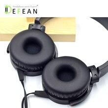 Defean novo almofada almofadas de ouvido travesseiro para sony MDR XB550AP xb450ap xb650bt fones 72mm