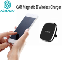 Nillkin magnetic wireless charger General QI Car Phone Holder wireless charger For iphone x xs max For samsung Galaxy s9 s10 plu