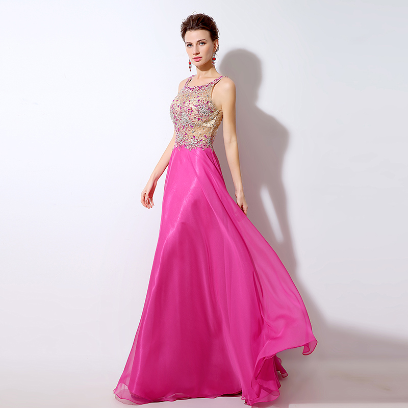 a30c70d3cc Aswomoye media manga vestido de noche 2018 apliques Línea A vestidos de fiesta  vestido de fiesta