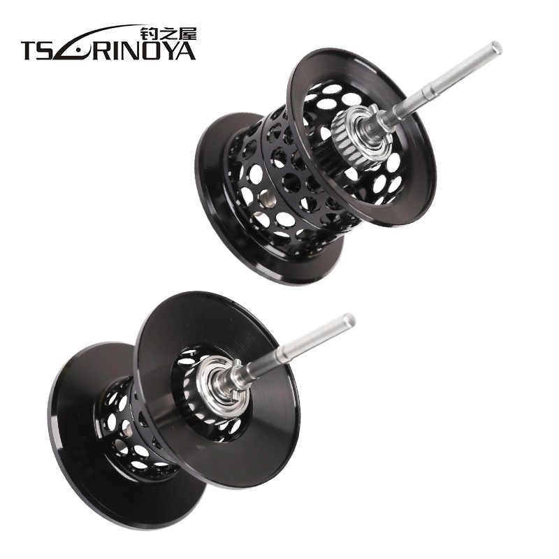 TSURINOYA XF50/XF150 Casting Reel Spare Spool Ondiepe/Diepe Aluminiumlegering Licht Gewicht Lokken Rollen Rechange Spoel Accessoires