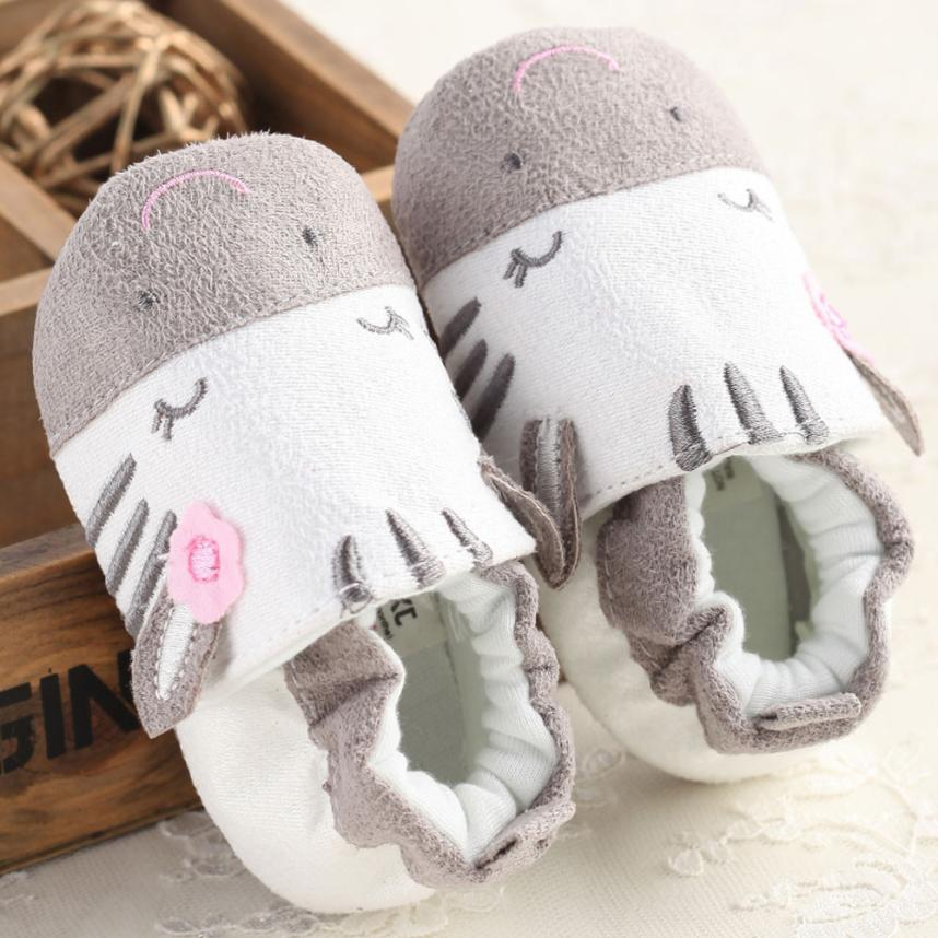 Baby toddler shoes color matching lace-up shoes newborn lace-free shoes shallow mouth cartoon shoes Todder pre-walker Y-NEW