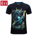 2017 New Fashion Animals Print Men Top Print Male Harajuku t shirt Brand Design Quality t shirt Summer Short Sleeve Tees X552