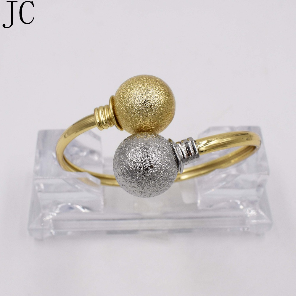 Big Bracelet & bangles for women gold plated Cubic zirconia Simple Bangle New design fashion Jewelry Free shipment