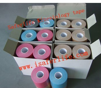 2017 new stock SPORTS MUSCLE TAPE for kinesiology taping Order 220pcs get 20pcs extra