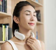 Wireless smart Electric Pulse Back and Neck Massager Far Infrared Heating Pain Relief Health Care Relaxation Tool Cervical