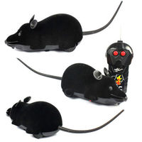 5 pack Scary RC Remote Controller Simulation Plush Mouse Mice Kid Toy Gift