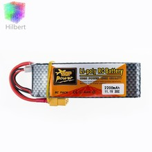 ZOP  Lipo Battery 11.1V 2200Mah 3S 30C Max 35c XT60 / T Plug For RC Helicopter Qudcopter Drone Truck Car Boat Bateria Lipo