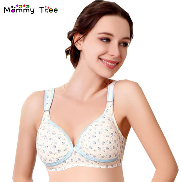 26ab4e5931 Cute Apples Nursing Bra Cotton Lingerie for Pregnant Women Clothing for  Feeding Clothes Maternity Underwear for Nursing Mothers