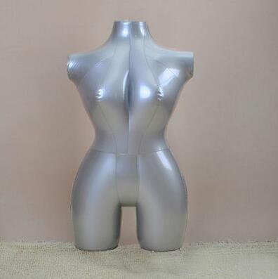 84CM Gray Inflatable female mannequin toroso womens models,Inflatable shooting mode maniqui for clothes,upper body,M00356