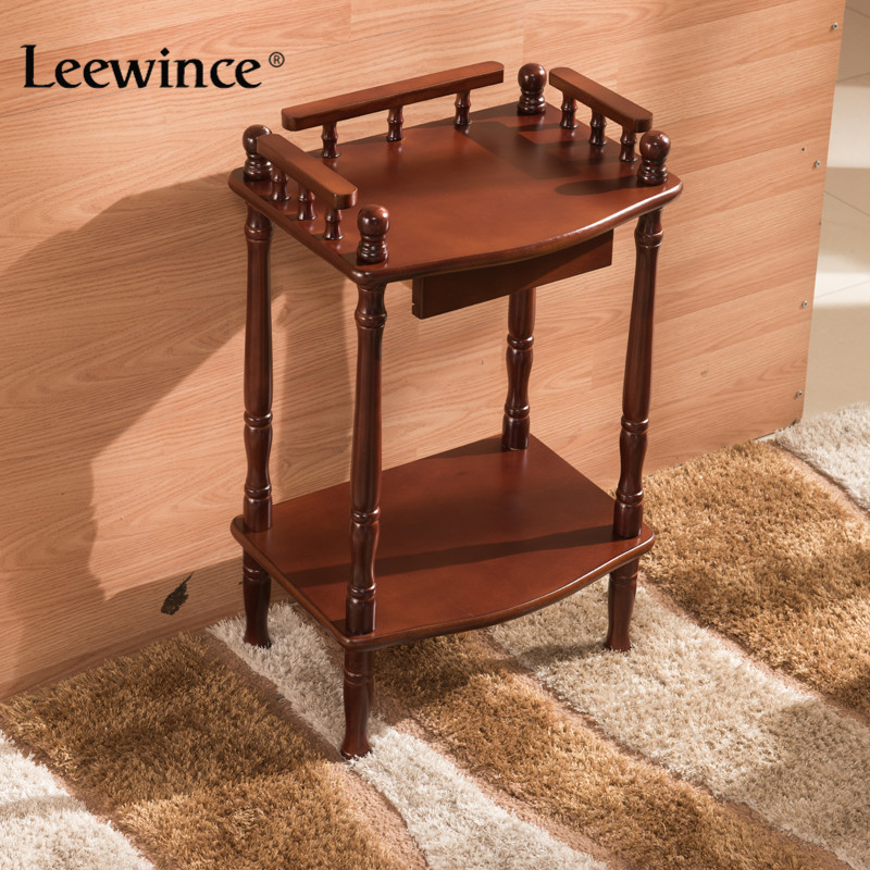 leewince coffee tables storage holders shelf display rack corner shelf choice products furniture console tables - Cheap Console Tables