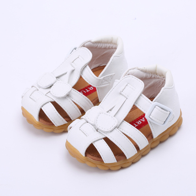 5a999c27980 2017 Summer new children s shoes baby anti-skid step shoes baby soft bottom girl  sandals high quality