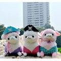 35CM Kawaii Alpaca Plush Toy Alpacasso Stuffed Animal Soft Alpaca Stuffed Kids Toys Baby Toy Alpacasso Gift For Children 27