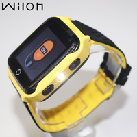 2018 GPS Tracking Watch Kids Y21 Flashlight Camera Baby Watches Touch Screen GPS Smart Watch SOS