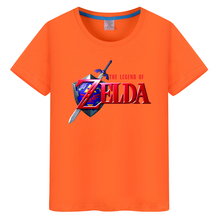 The Legend of ZELDA Game T Shirt Print Triforce T-shirt Men Fashion Short Sleeve Cotton T-shirt Tee Tops Unisex Style Shirt