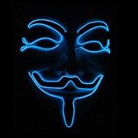 V Jak Vendetta Strona masque Maska Anonymous Guy Fawkes halloween Kostiumy Dla Dorosłych Kostium Akcesoria macka mascaras