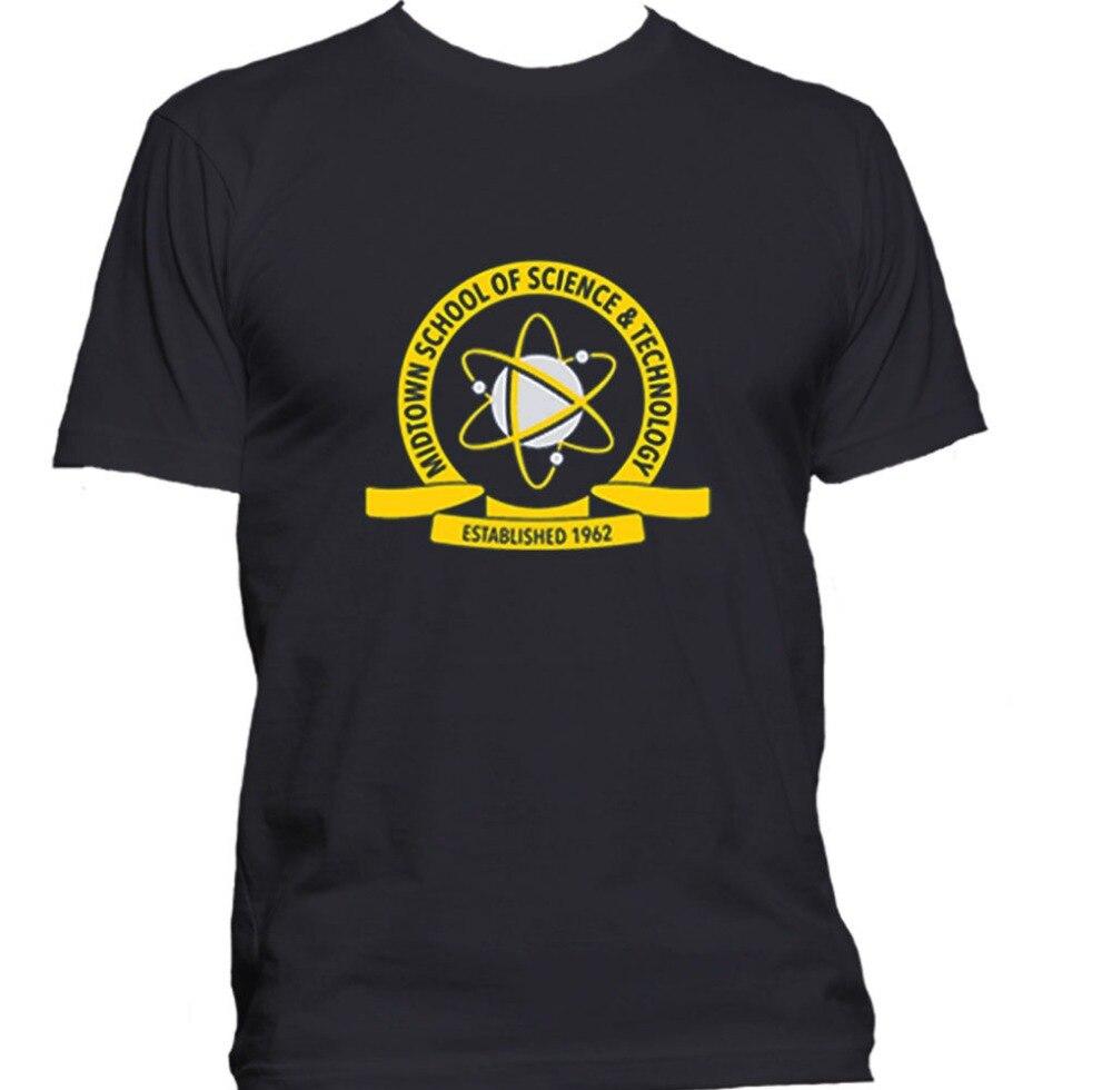 Tee Shirt Printing Design Men Crew Neck Technology Peter Parker Spiderman Homecoming Short-Sleeve T Shirts