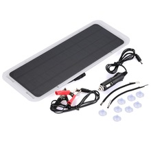 18V 5.4W Motorcycle Solar Panel Power Bank Auto External Battery Charger Boat Outdoor Monocrystalline silicon Panel Outdoor