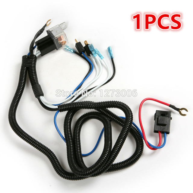 Universal 1pcs 12V Horn Wire Harness Relay Kit For Automobile PVC+ on lightweight safety harness, universal fuse box, universal equipment harness, universal heater core, universal miller by sperian harness, construction harness, universal radio harness, universal fuel rail, universal ignition module, universal battery, universal steering column, stihl universal harness, universal air filter,