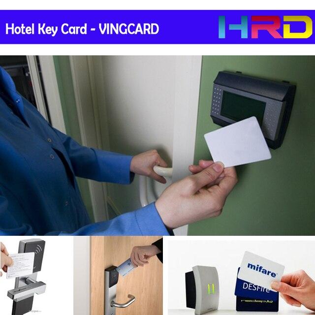 US $18 99 |[10pcs/lot blank VINGCARD card] hotel keycard guest room key  card mf ultralight ult chip 13 56MHz pvc blank card free shipping-in Access