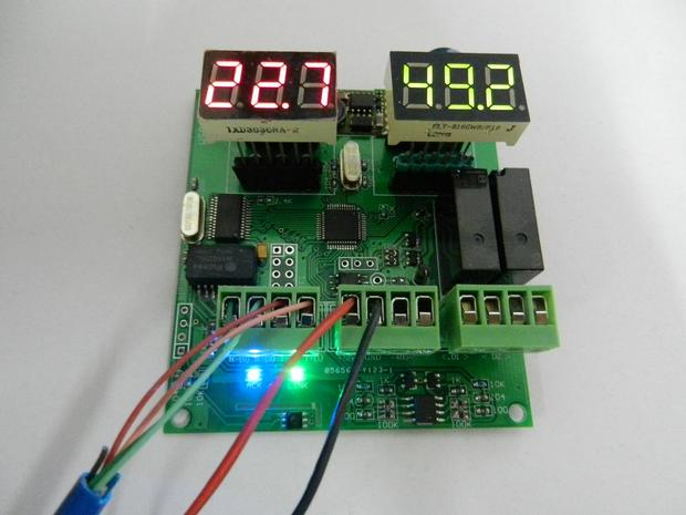 Digital temperature and humidity sensor MODBUS 4-20mA WIFI RS485 development board graduation design zigbee cc2530 dht11 pcb board design temperature and humidity acquisition vb display upper computer finished graduation