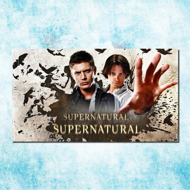 Supernatural diablo fantasma arte seda lienzo impresión 13x24 inch ...