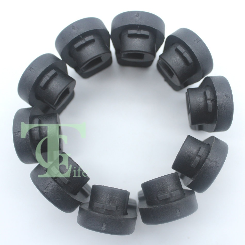 10Pcs Chainsaw Air Filter Cover Twist Lock Fit Stihl 017 018 026 036 MS170 MS180 MS260 MS360 OEM 11301412300 / 1130 141 2300