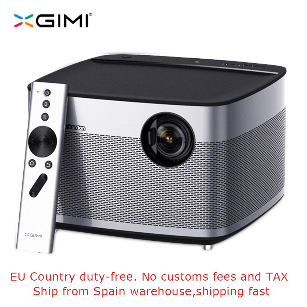 цена на XGIMI H1 1920x1080 Full HD 3D Support 4K Projector 3GB/16GB Android 5.1 Bluetooth Wifi Home Theater 300inch DLP Beamer