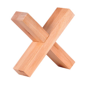 Wooden Cross Shape Kong Ming L