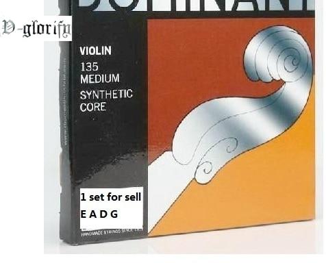 V-glorify Dominant model Violin String 135 Medium 4/4 Free shipping