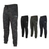 Daiwa Men's Anti UV Camo Fishing Pants Sunscreen Windproof Fishing Trousers Quick drying Breathable Outdoor Sports Pants