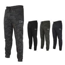 Daiwa Для мужчин УФ Камо рыбалка брюки солнцезащитный крем Ветрозащитный Рыбалка Брюки Быстросохнущий дышащий Открытый Спортивные штаны