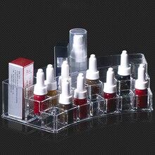 1 pcs Acrílico Cosméticos Make up Organizer Maquiagem Make up Organizer Caixa de Armazenamento de acessórios Microblading