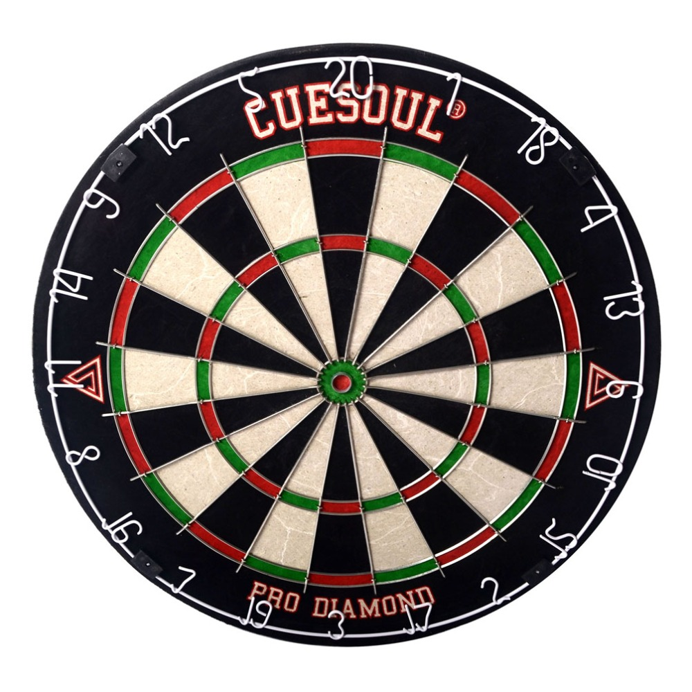 CUESOUL FreeShipping Dart Board For Dardo 1 PiecesKenya Sisal Bristle Pro Round Wire Dart board for dart free For Steel Tip Dart tsuyoki dart 80f 113