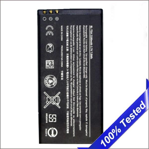 BL-T5A Batterie für Nokia Microsoft Lumia 550 Lumia550 2100 mah Batterie Ersatz Hohe Qualität