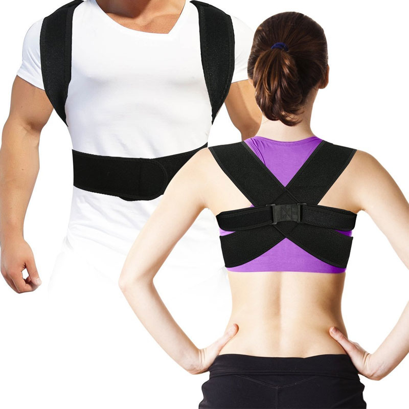 Tcare 1Pcs Posture Corrector Clinically Proven To Improve Bad Posture & Relieve Upper Neck & Back Pain Premium Posture Brace