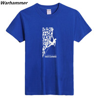 Climbing Is Life Rock Climbing Sports Team T Shirts Boy S Brand New Tee Factory Price