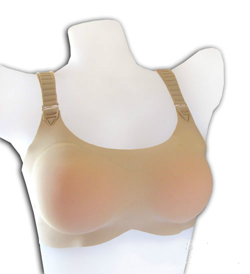 QWE Silicone Breast Forms Crossdressers Cosplay Dcup Transgender Individuals Realistic Feel for Transwomen,Prosthesis Mastectomy Bra Inserts