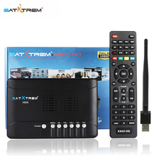 HD TV Box X800 DVB-S/S2 Satellite Receiver Set top TV BOX USB WIFI 1080P HD Support Cccam Newcam PowerVu DRE