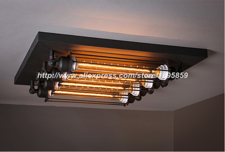 Aliexpress.com : Buy Industrial Ceiling Light Dining Room Ceiling ...